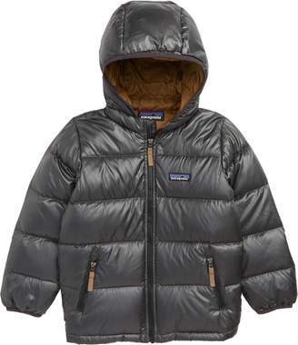 Patagonia Reversible Water Resistant 600-Fill-Power Down Hooded Jacket