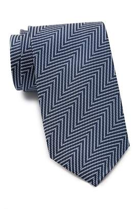 Thomas Pink Millais Herringbone Silk Tie