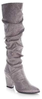 Stuart Weitzman Smashing Leather Knee-High Boots