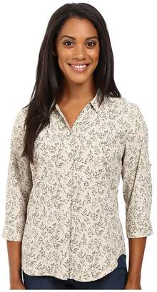 Royal Robbins Expedition Stretch 3/4 Sleeve Print Women's Clothing