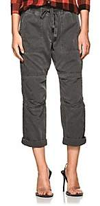 NSF Women's Bronte Cotton Canvas Cargo Pants - Black