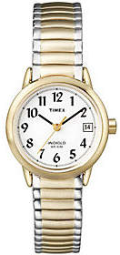 Timex Women's Two-Tone Easy Reader Watch $52 thestylecure.com