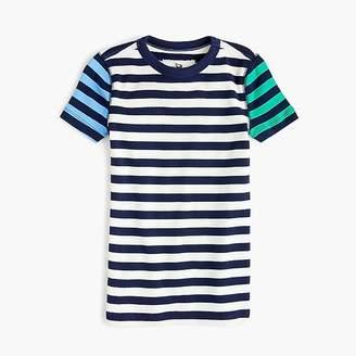 J.Crew Kids' short-sleeve pajama set in mixed stripe