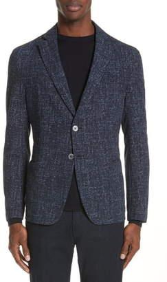 Emporio Armani Trim Fit Seersucker Sport Coat