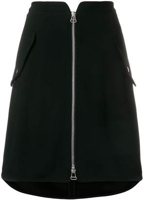 Rag & Bone zipped mini skirt
