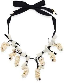 Lele Sadoughi Shell Collector Necklace
