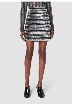 Derek Lam 10 Crosby Embellished A-Line Skirt