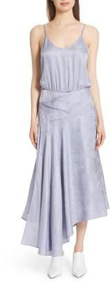 A.L.C. Willa Asymmetrical Silk Jacquard Dress