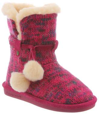 BearPaw Girl's Mary High-Top Wool Boot - 4M