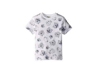 Kenzo All Over Printed Tiger Short Sleeve T-Shirt (Toddler/Little Kids)