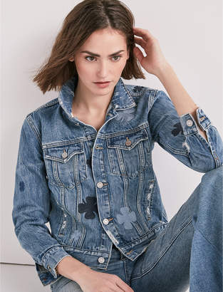 Lucky Brand The Denim Tomboy Trucker Jacket