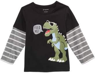 First Impressions Baby Boy's Dinosaur-Print Cotton Tee