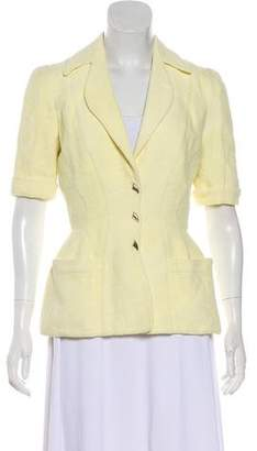 Thierry Mugler Short Sleeve Knit Jacket