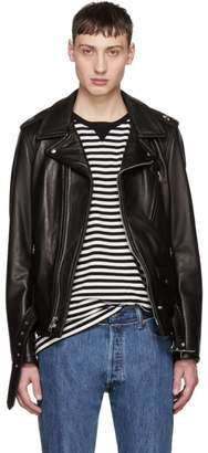Schott Black Leather Perfecto Jacket