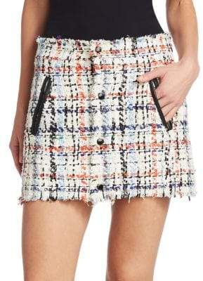 Rag & Bone Otis Tweed Mini Skirt