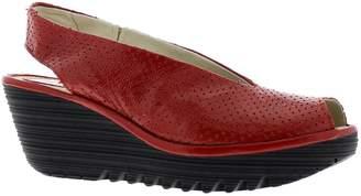 Fly London Womens Yazu 736 Leather Sandals 38 EU