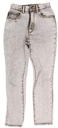 Marc Jacobs Acid Wash High-Rise Skinny Jeans