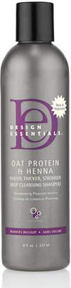 JCPenney Design Essentials Oat Protein Henna Deep Cleansing Shampoo - 8 oz.