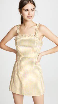 Lost + Wander Mimosa Ruffle Dress