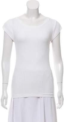 Simon Miller Rib Knit Short Sleeve Top w/ Tags