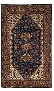 Adina Collection Oriental Rug, 4'10 x 8'1