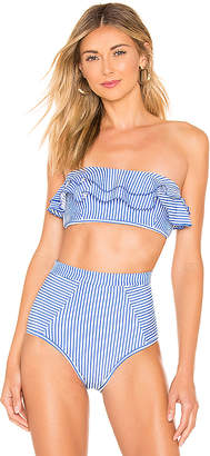 Suboo Solstice Frill Bandeau Bikini Top