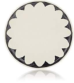 Hudson Nicholas Newcomb Valley Chrysanthemum Coup Dessert Plate-Black