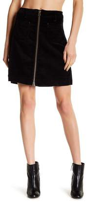 Jag Jeans McCamey Zip Corduroy Skirt