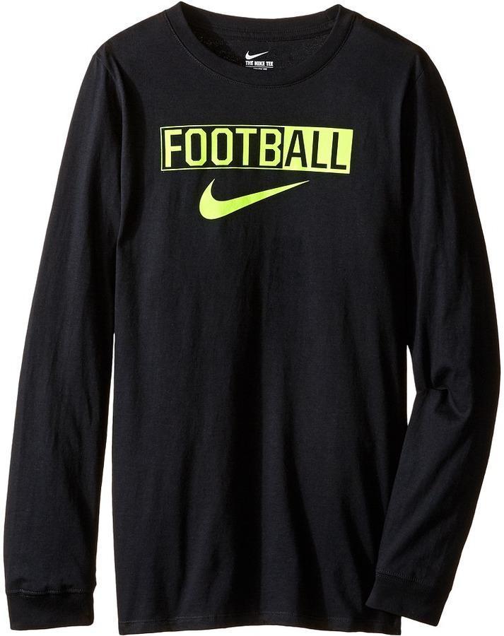 Nike Kids All Football Training T-Shirt (Little Kids/Big Kids)