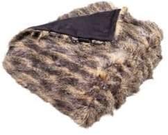 Safavieh Faux Pheasant Fur Throw
