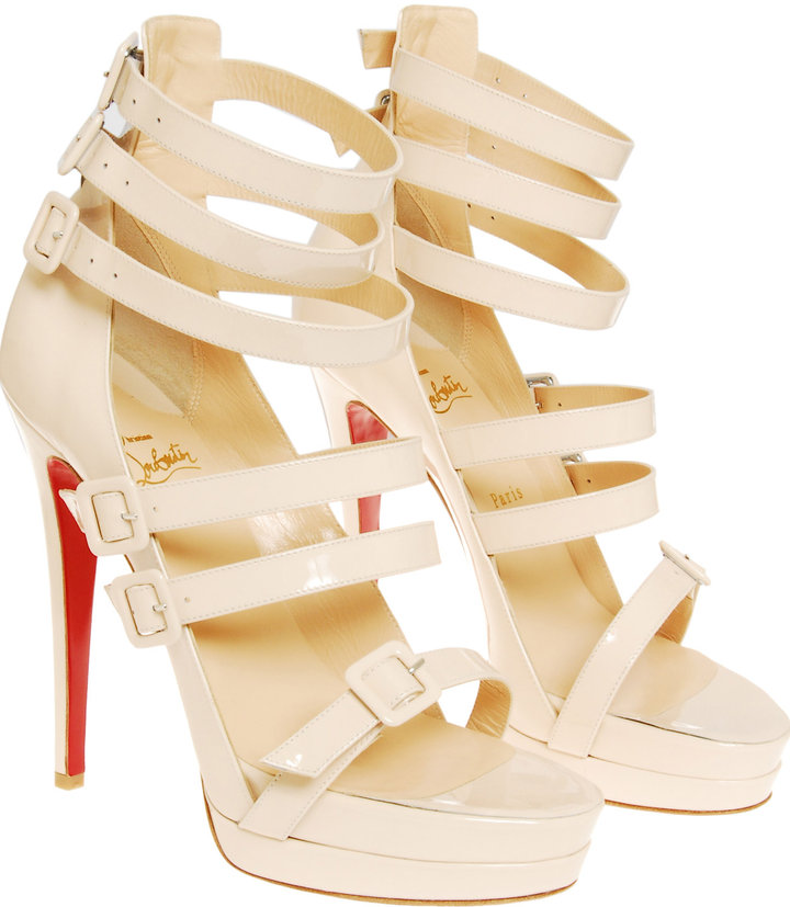 Christian Louboutin 'Differa' buckle heel