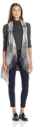 Collection XIIX Women's Cheveron Vest Ruana $38 thestylecure.com