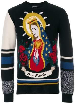 Dolce & Gabbana Ave Maria jumper