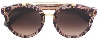 Stella McCartney Eyewear leopard print sunglasses
