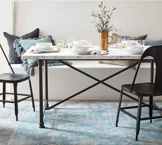 Pottery Barn Avon Marble Dining Table