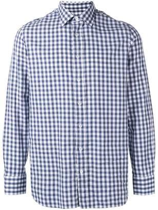 Lardini gingham shirt