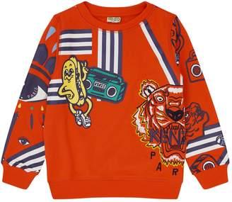 Kenzo Tiger and Friends Sweatshirt