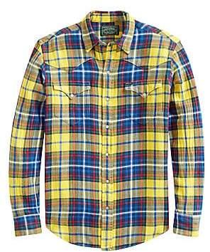 Polo Ralph Lauren Men's Plaid Twill Shirt