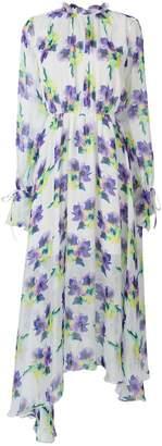 MSGM long-length floral dress