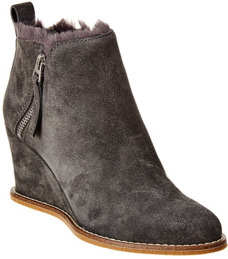 Dolce Vita Gisele Suede Wedge Bootie