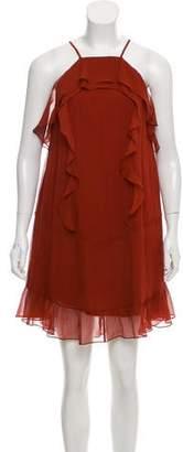 Rachel Zoe Ruffled Mini Dress