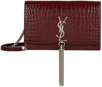 Saint Laurent Kate Tassel Wallet Bag