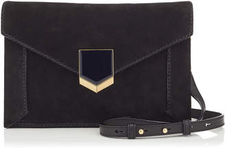 Jimmy Choo LAURA Black Suede Mini Bag