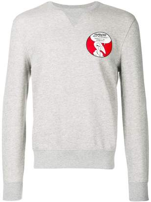 Moncler patch sweater