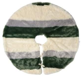Nordstrom Rack Stripe Faux Fur Tree Skirt