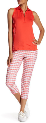 Peter Millar Printed Oxford Plaid Ankle Pant $119.50 thestylecure.com