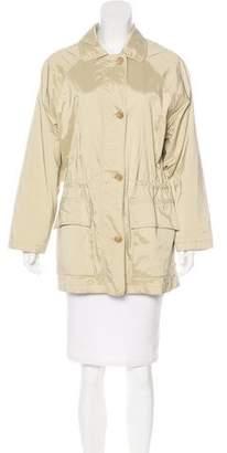 Loro Piana Button-Up Collar Jacket
