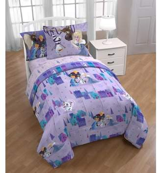 DISNEY-FROZEN Disney Frozen Olaf Family Ties Twin Bed in a Bag Bedding Set with Bonus Tote