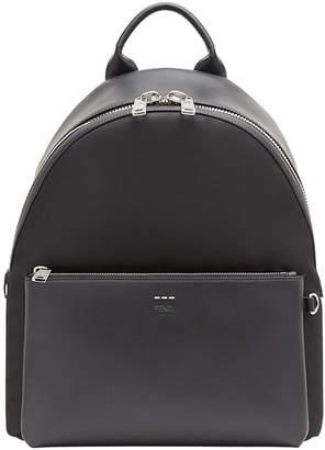 Fendi textured shoulder straps backpack