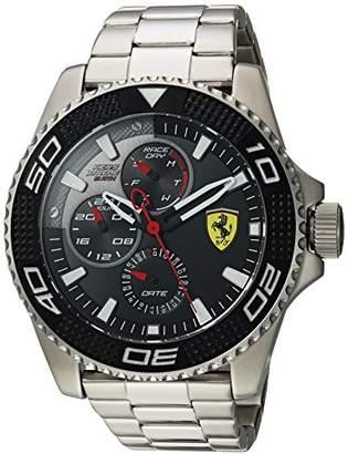 Ferrari Men's 'KERS Xtreme' Quartz Stainless Steel Casual Watch